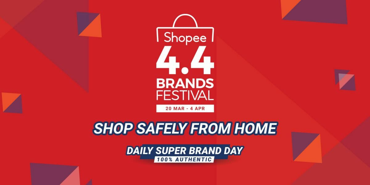 Shopee 4.4 Brands Festival