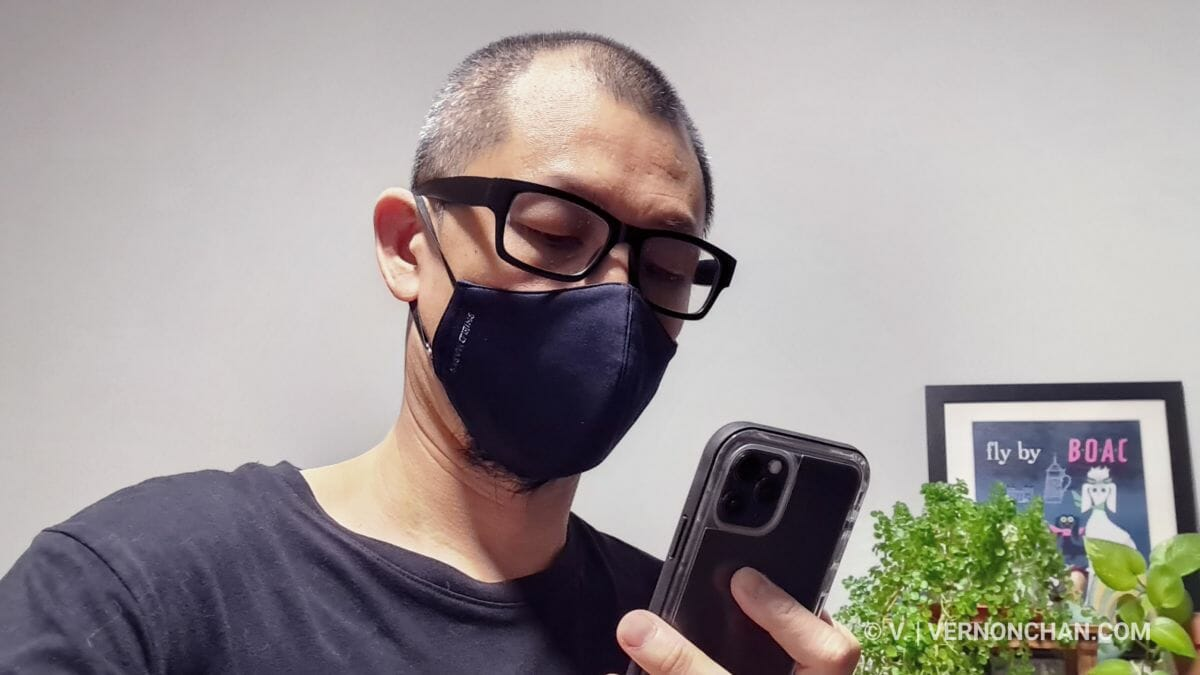 iOS 13.5 face unlock with face mask