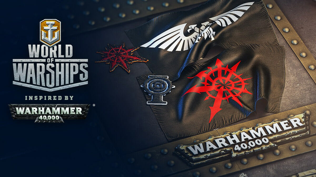 World of Warships x Warhammer 40,000