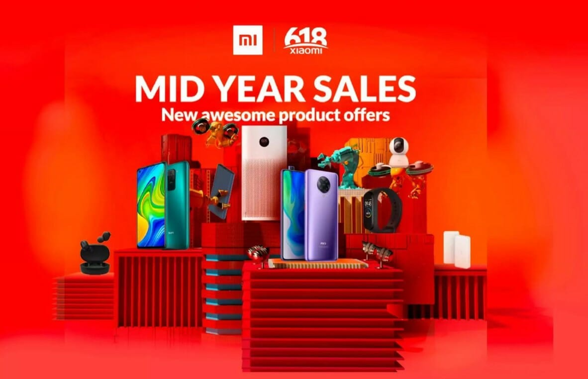 Xiaomi 6.18 Mid-Year Sales