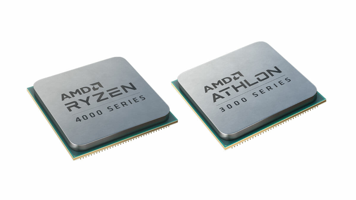 AMD Ryzen 4000 Series + AMD Athlon 4000 Series