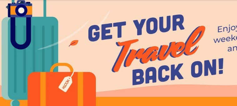 Klook Get Your Travel Back On promo