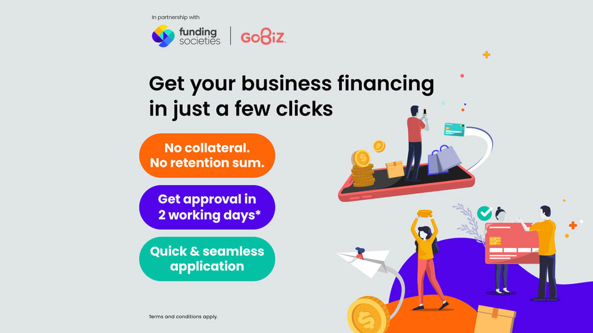 U Mobile GoBiz Funding Societies