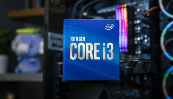 10th Gen Intel Core i3-10100f