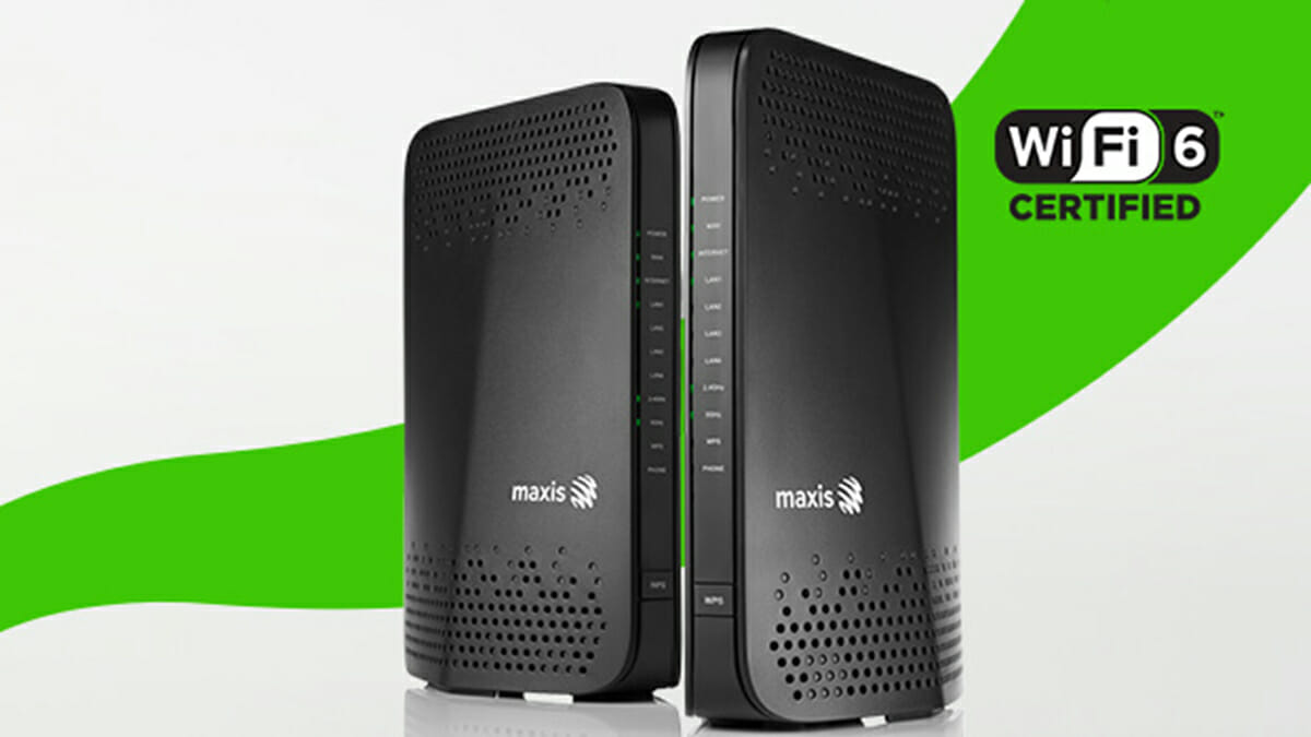 Maxis Wi-Fi 6 router
