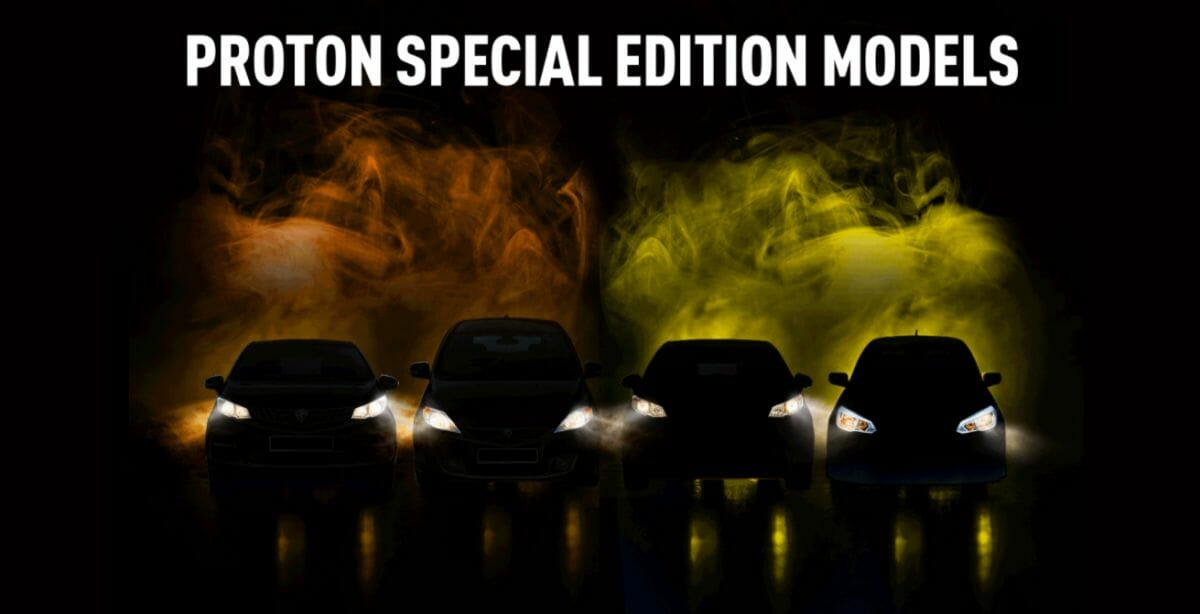 Proton 2021 Special Edition Models