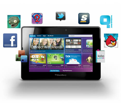 BB PlayBook Apps