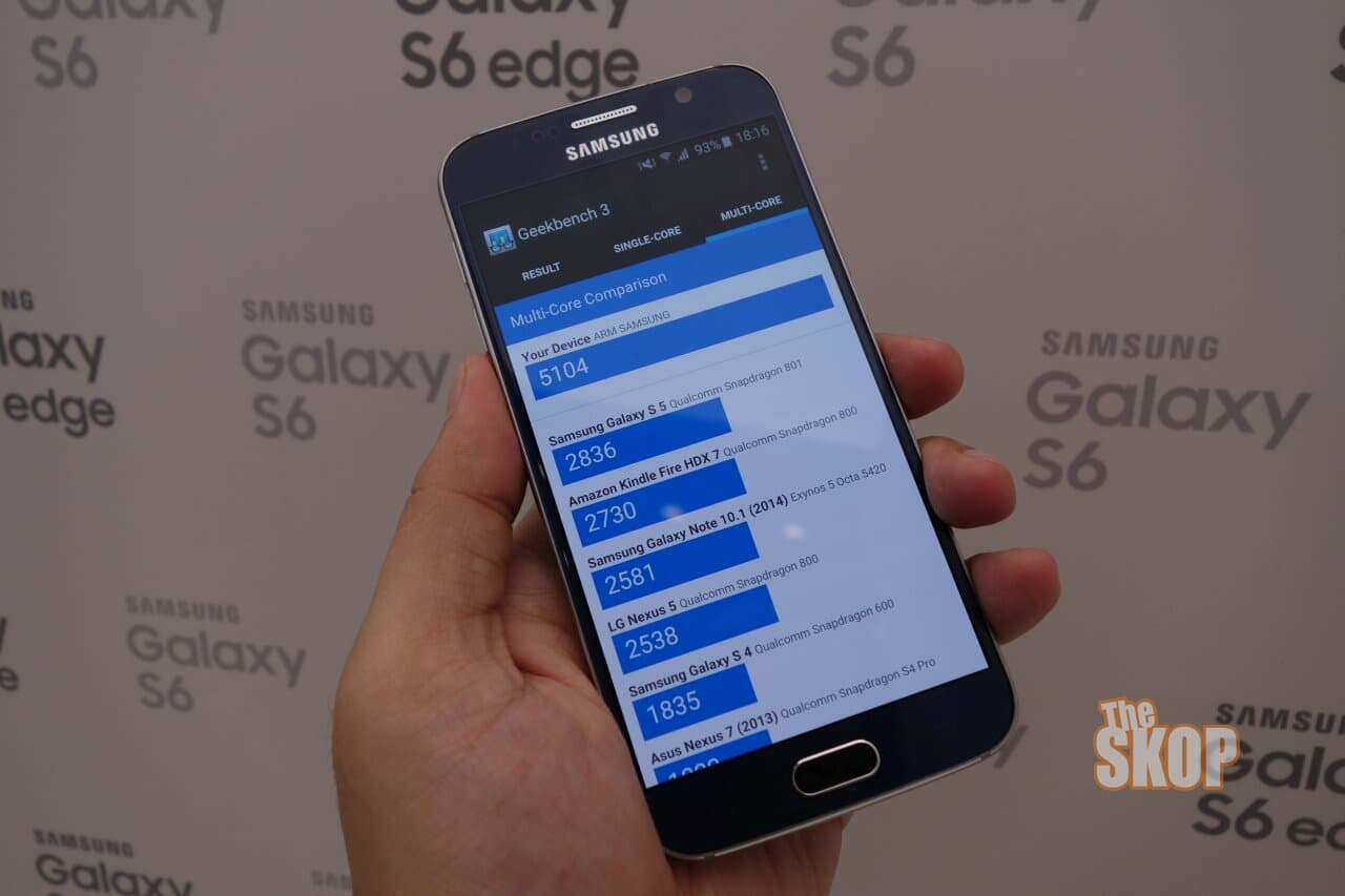 Hands-on mini review of the Samsung Galaxy S6 Edge