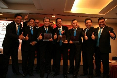 Celcom wins Best Telco of the Year. Image source PC.com