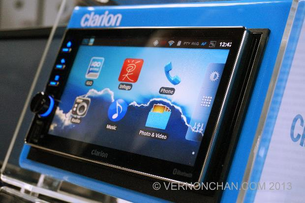 Clarion AX1 launch