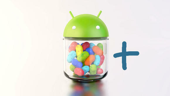 Android 4.2 Jelly Bean+. Image credit: Techradar UK