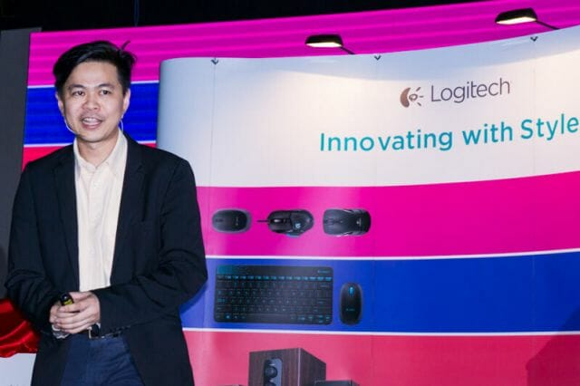 KP Sim, Logitech Country Manager of Malaysia, Philippines & Brunei