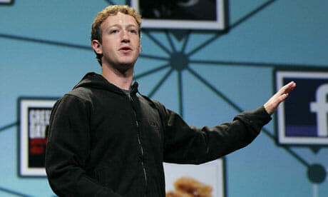 Mark-Zuckerberg-Facebook. Image credit: Guardian.co.uk