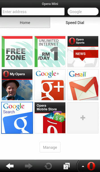 Maxis-Opera-Mini-browser