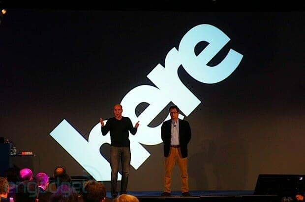 Nokia Here Event. Image credit: Engadget