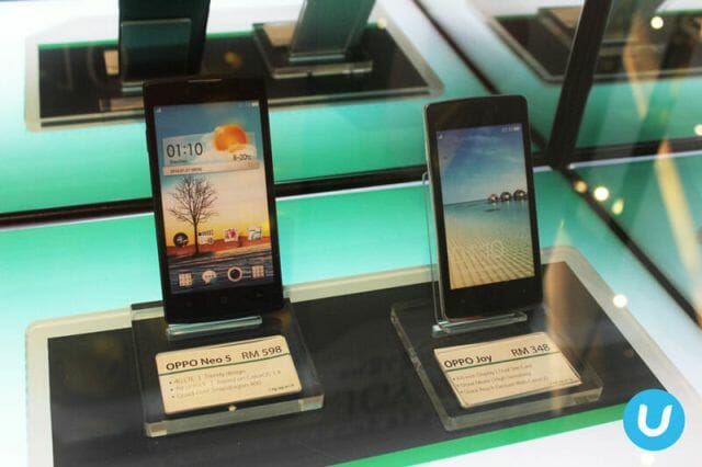 OPPO Neo 5 and and OPPO Joy