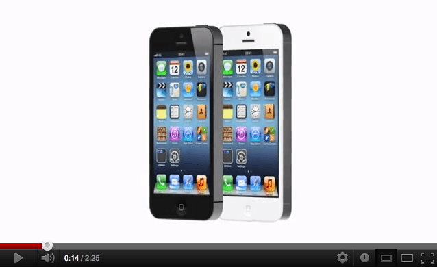 Official iPhone 5 Promo Video