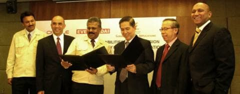 Oracle Eversendai Sunway Business Applications MoU