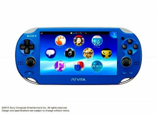 New PS Vita colour options