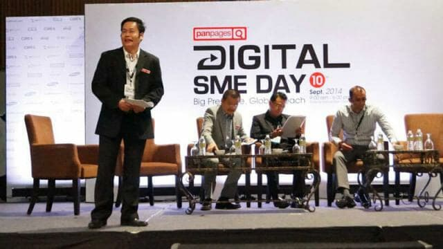 Panel discussion at PanPages Digital SME Day 2014