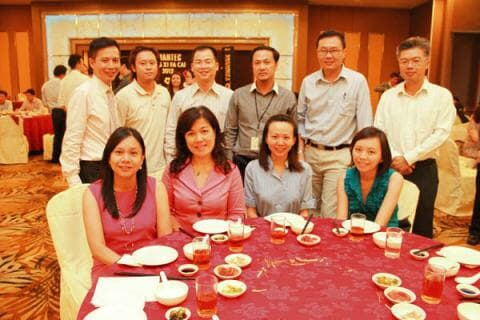 Symantec CNY Lunch - Ushering in the Year of the Dragon