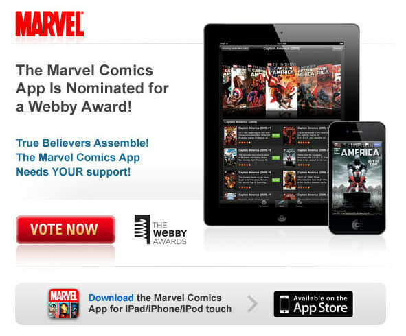 Vote for the Marvel Comics App!