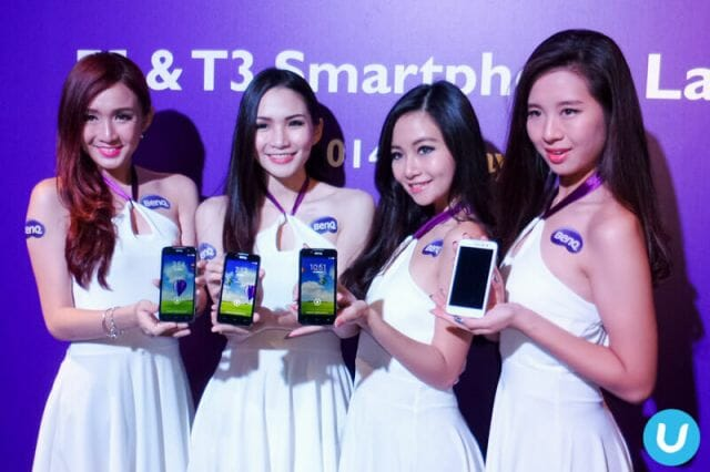 BenQ F5 and T3 smartphone launch