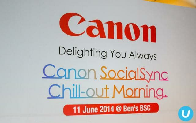 Canon Camera launch