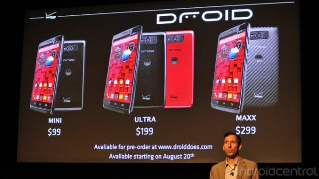 Droid family 2013