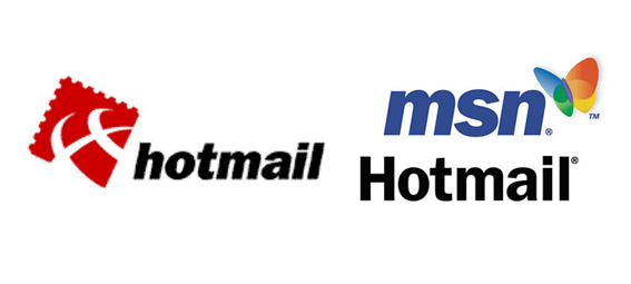 Hotmail Old & New