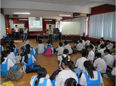 U Mobile reached out to secondary school students to educate and inspire them of their roles in environmental preservation.