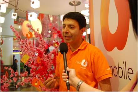 Dr. Kaizad Heerjee, CEO of U Mobile Sdn Bhd took time to shoot a video to wish U Mobile customers a happy Chinese New Year in conjunction with the upcoming festive season.
