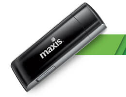 New Maxis 4G LTE modem