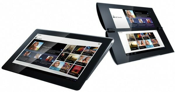Sony Tablet S. Image credit: Engadget.com