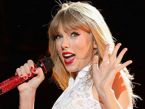 Taylor Swift waves goodbye to Spotify